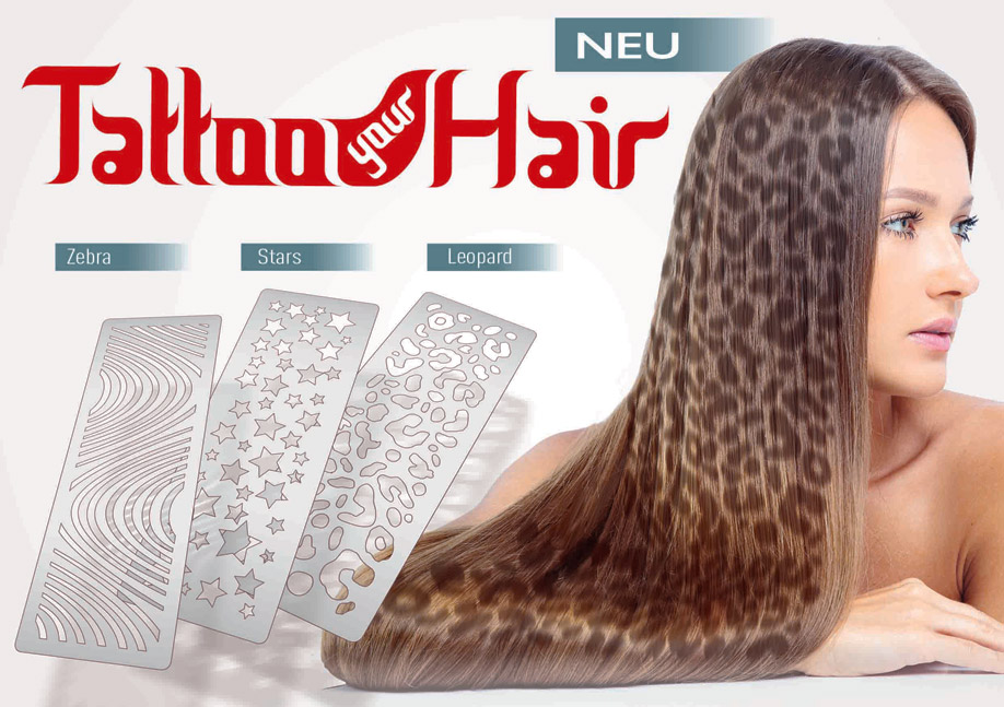 Tattoo your Hair - Hier klicken für Video